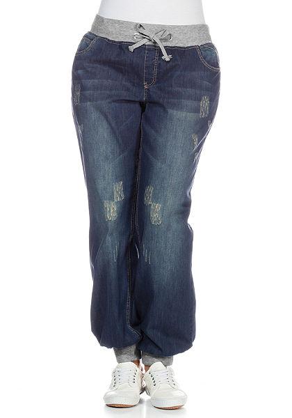 sheego Denim Pumpkové džíny