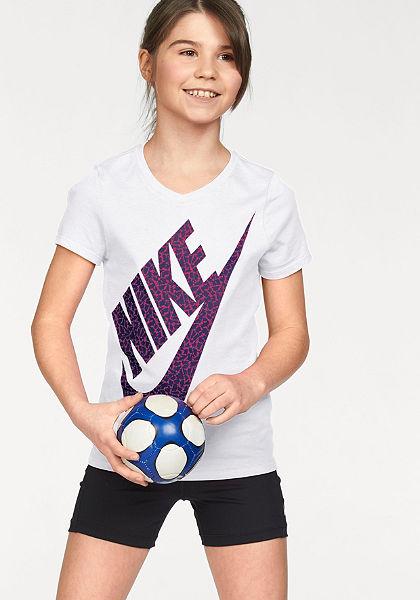 Nike Běžecké tričko »COTTON SHORT SLEEVE VNECK BM YOUTH«
