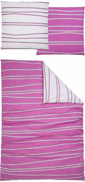 Obojstranná posteľná bielizeň, my home, »Cut« pruhované
