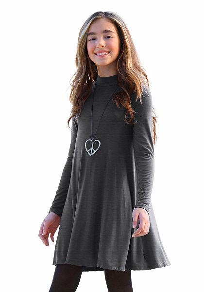 Arizona Šaty s malým zvýšeným límcem, pro dívky