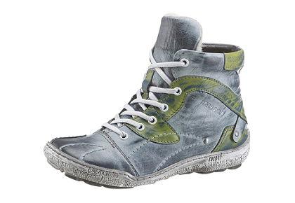 KACPER fűzős magasszárú cipő
