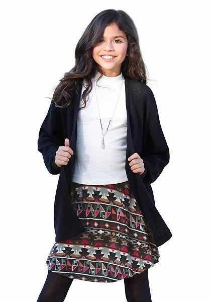 Arizona Pletený sveter s perlovým vzhľadom, pre dievčatá