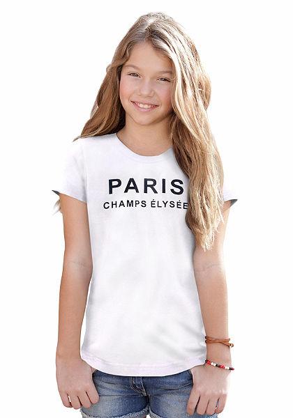 Arizona lányka nyomott mintás rövidujjú póló