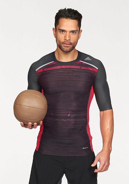 adidas Performance Sportovní tričko »TECHFIT CHILL SHORT SLEEVE TEE«