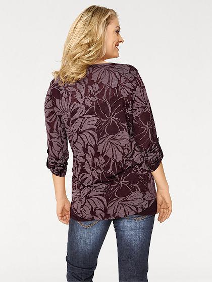 Kétrétegű hatású pulóver