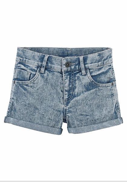 Džínové šortky, pro dívky