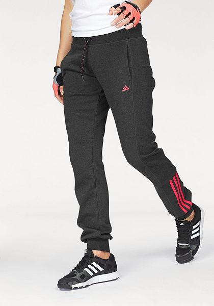 adidas Performance športové nohavice »ESSENTIALS MID 3S PANT«