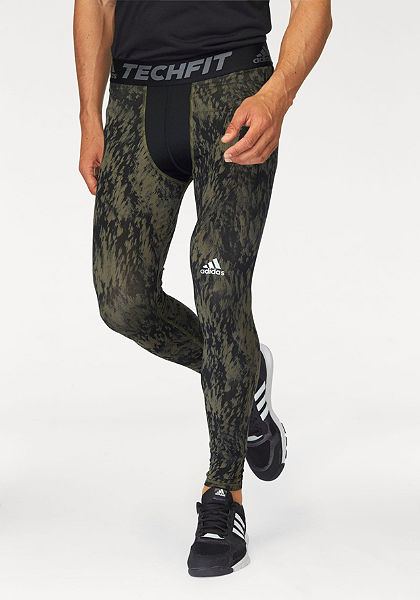 adidas Performance funkcionális sport legging »TECHFIT BASE SHARDS GRAPHIC TIGHT«
