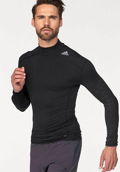 adidas Performance Sportovní tričko »TECHFIT BASE LONG SLEEVE MOCH GRAPHIC«