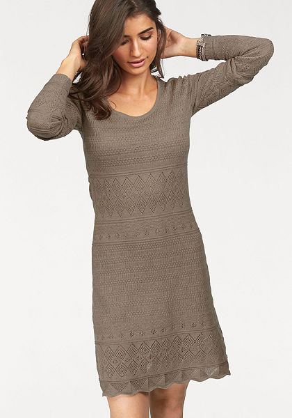 Boysen's Pletené šaty, hodnotný ažúrový vzor