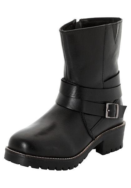 Sheego Shoes Krátké kozačky