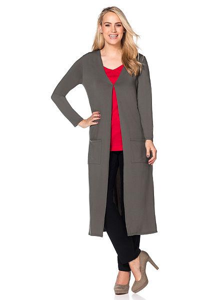 sheego Style Žerzejový kabát