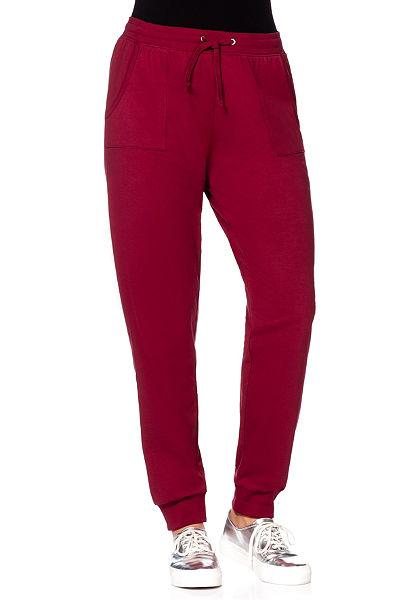 Sheego Basic Bavlněné kalhoty