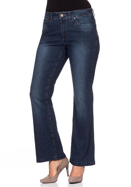 sheego Denim Strečové džíny »ozšířené«