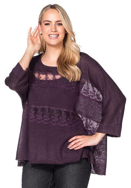 sheego Style oversize pulóver