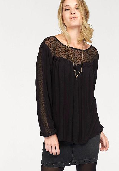 Vero Moda Tričko s dlhými rukávmi »LUNA«