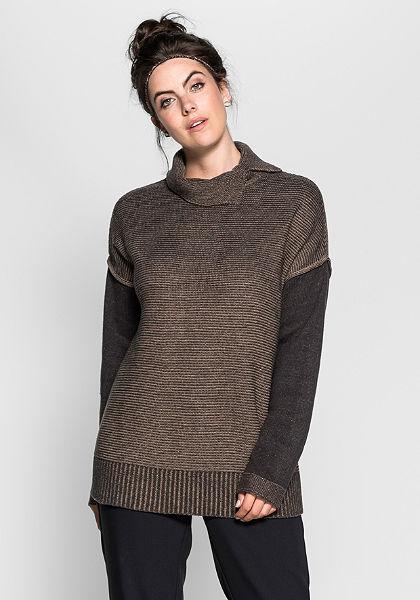sheego Trend Rolákový pulovr