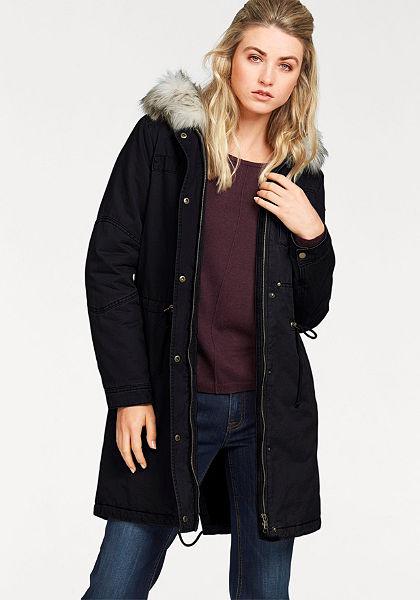 Tom Tailor műszőrme  galléros kabát