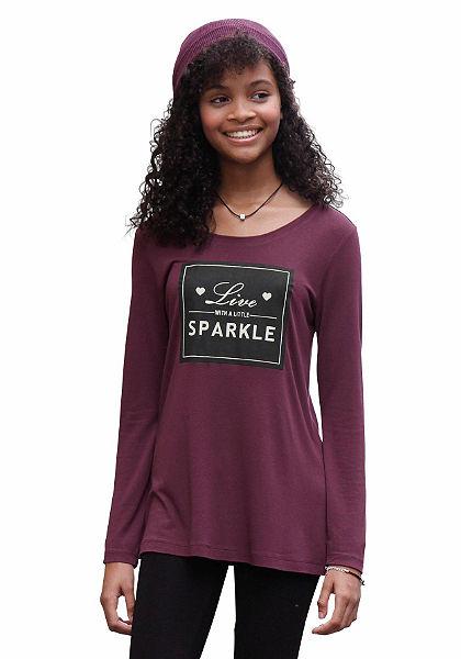 Arizona Dlhé tričko s potlačou, pre dievčatá