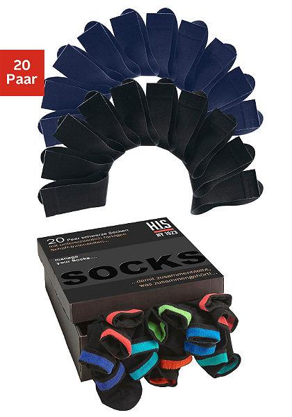 H.I.S Ponožky (20 párov)