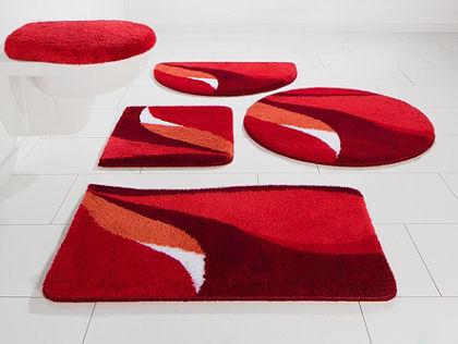 Koupelnový kobereček, kruh, my home, »Magnus«, výška 20 mm, protiskluzová úprava