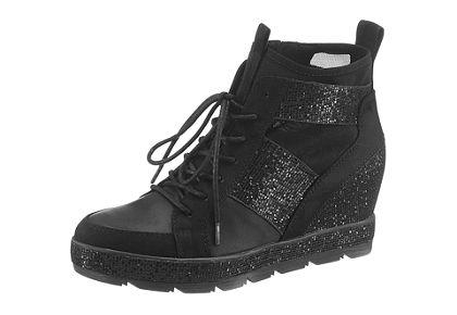 Tamaris telitalpú sneaker cipő