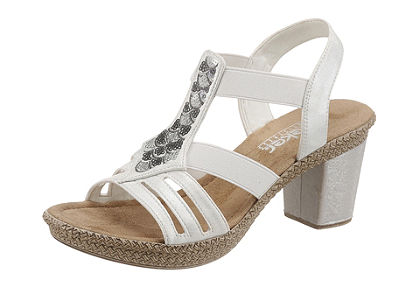 Rieker sandále s platformou