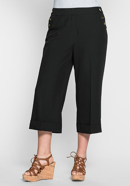 sheego Trend Kalhotová sukně