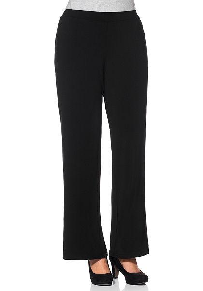 sheego Style Žerzejové kalhoty »široké«