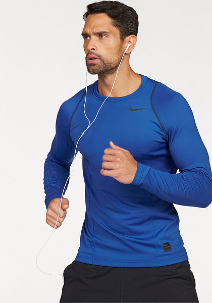 Nike  »PRO HYPERWARM TOP LONGSLEEVE FITTED« funkcionális póló
