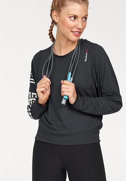 Reebok Tričko s dlouhým rukávem »Bioknit Novelty Cover-Up«
