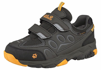 Jack Wolfskin outdoorové topánky »Mountain Attack 2 Texapore Low Velcro Kids«