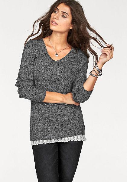 Boysen's V kivágású pulóver