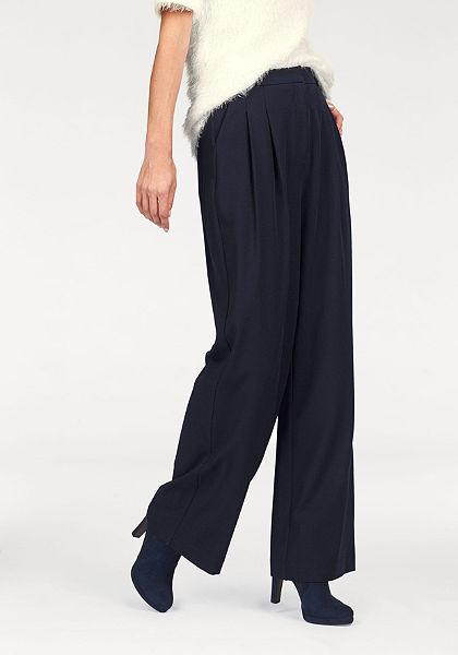 Tamaris Plisované kalhoty