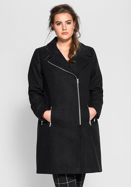 sheego Trend kabát hajtókával