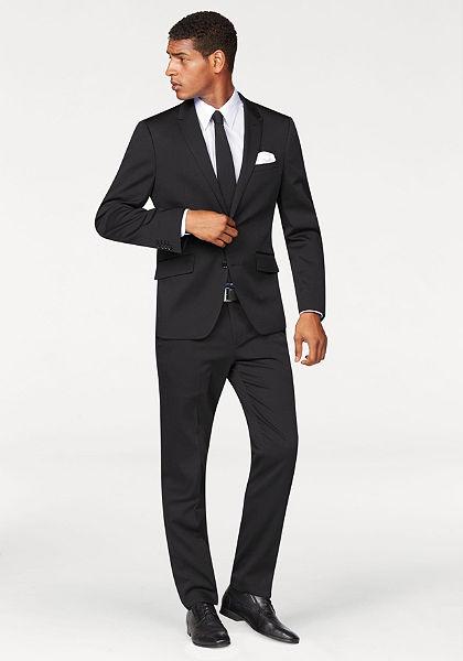 Bruno Banani Oblek 4-dielny (kravata a vreckovka)