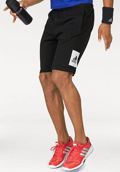 adidas Performance Šortky »ESSENTIALS BOX LOGO FRENCH TERRY SHORT«