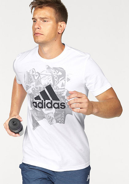adidas Performance Tričko »BADGE OF SPORTS«