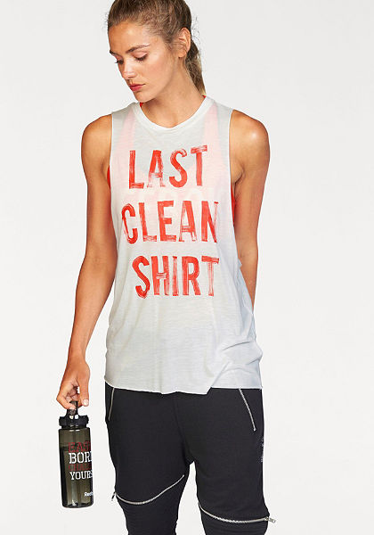 Reebok Sportovní top »STUDIO FAVES MUSCLE TEE«