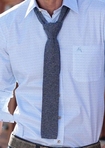 Népviseleti nyakkendő melírozott hatású