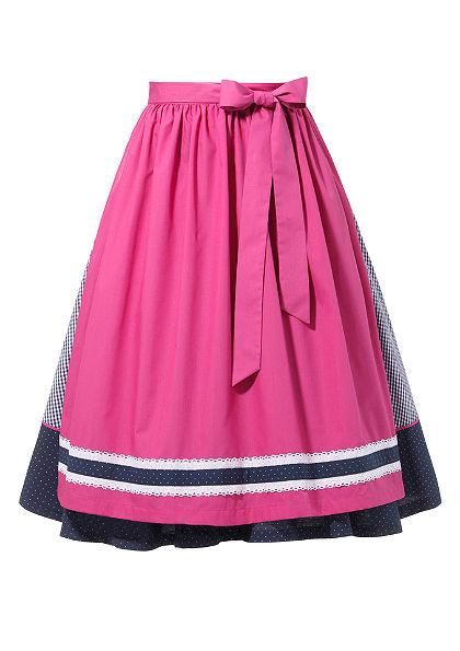 Krojová sukňa so zásterou