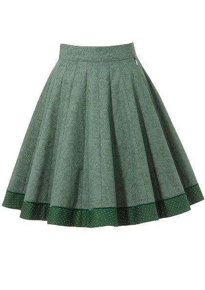Hammerschmid Krojová sukňa skašmírovou potlačou