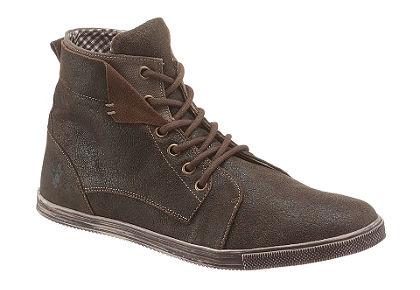 Spieth & Wensky Pánska obuv vo vyšúchanom vzhľade