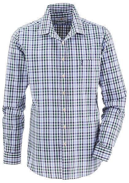 Almsach Krojová košeľa v kockovanom dizajne