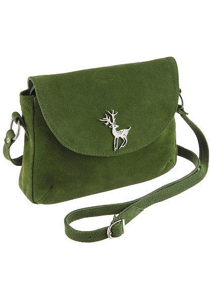 KABE Kožený doplnok, krojová taška sdekoratívnym motívom jeleňa