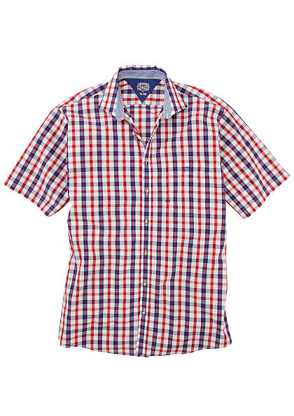 OS-Trachten Krojová košeľa s malou výšivkou