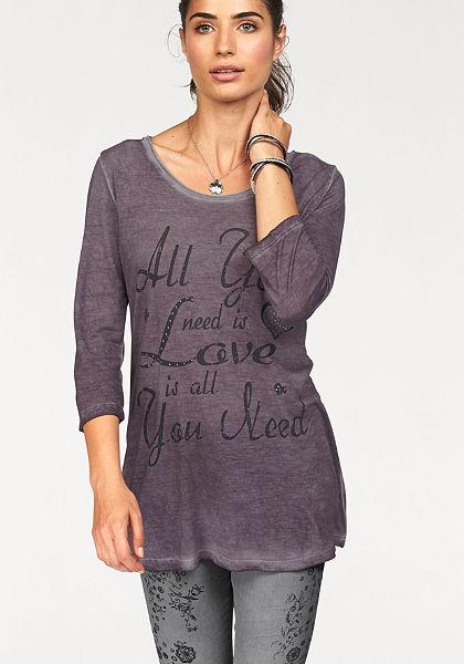 Boysen's nyomott mintás pulóver