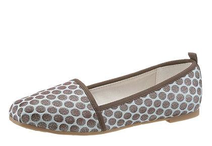 Tamaris nyárias textil slip on cipő