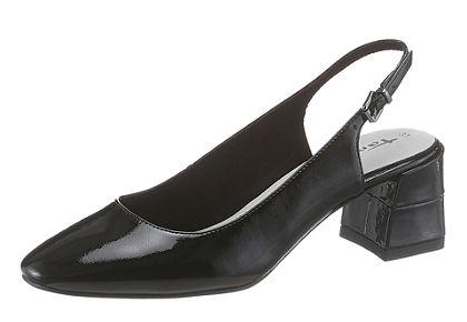 Tamaris hátul nyitott cipő