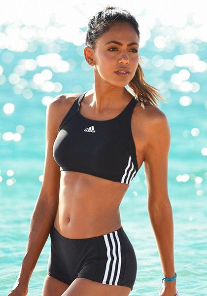 Melltartó top bikini, adidas Performance